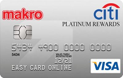 Citi Makro Platinum Rewards